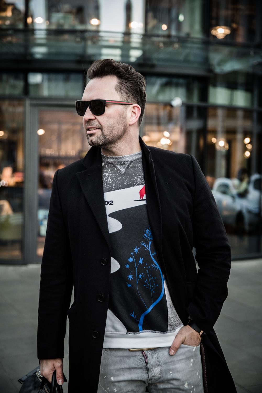 elegancki mężczyzna Mr Luxury