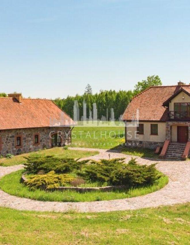 An old dwelling in the Suwałki Region or slow life the Polish way