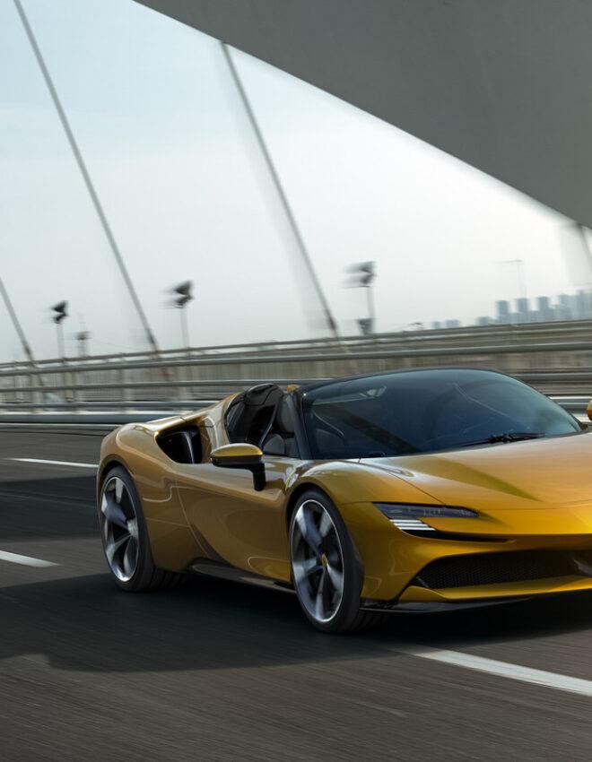 Ferrari SF90 Spider: a 1000hp hybrid