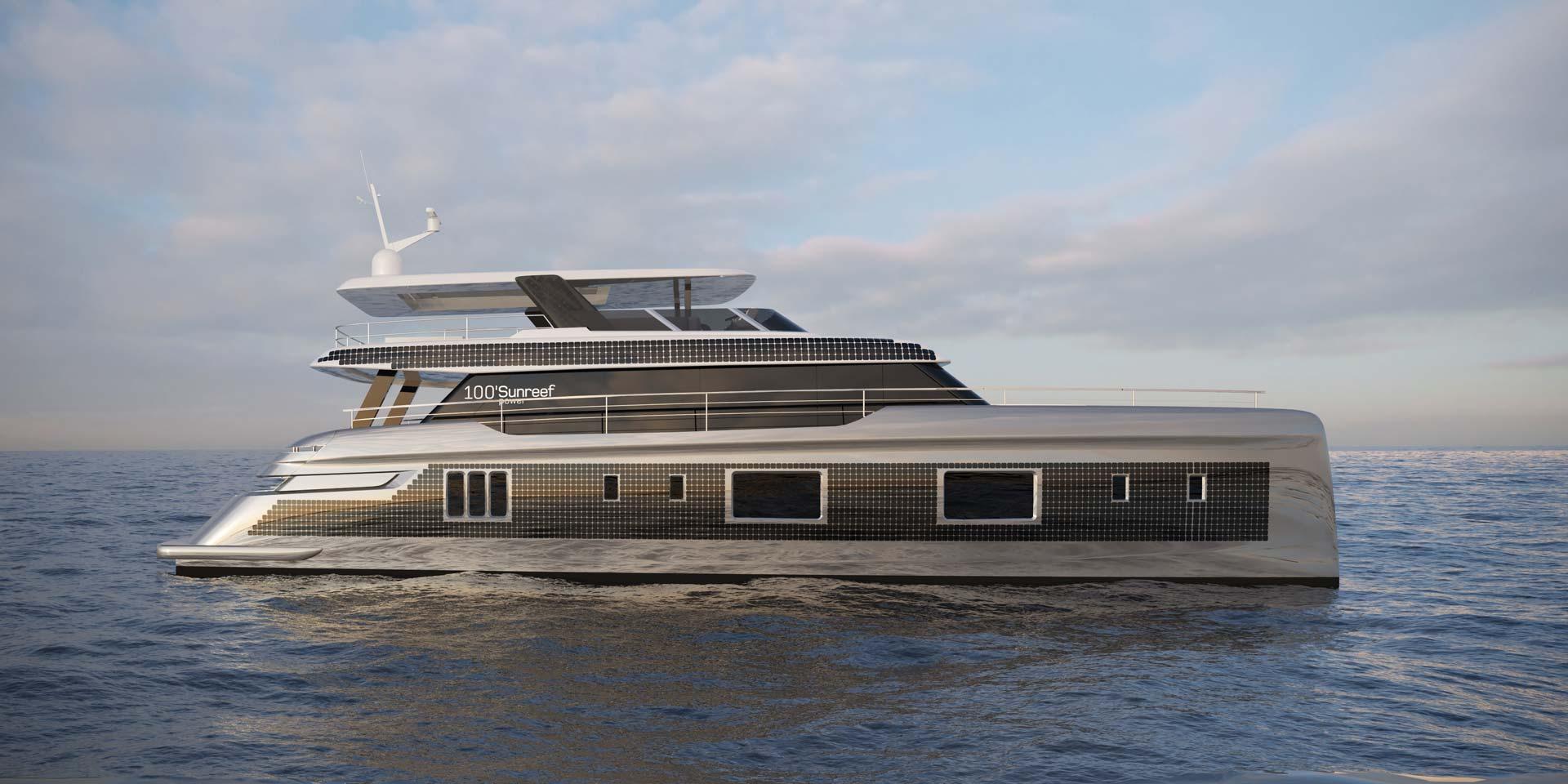 Jacht Sunreef Power Eco 100