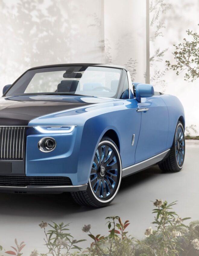 Rolls-Royce Boat Tail: auto na zamówienie