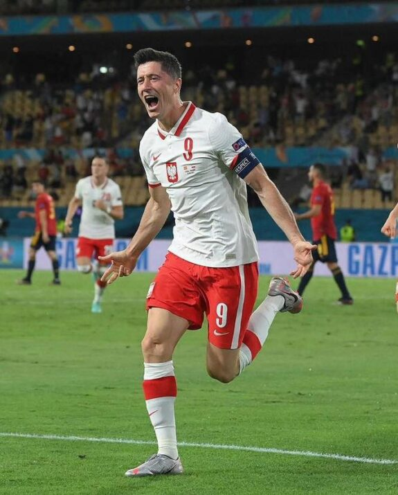 Robert Lewandowski Euro 2021