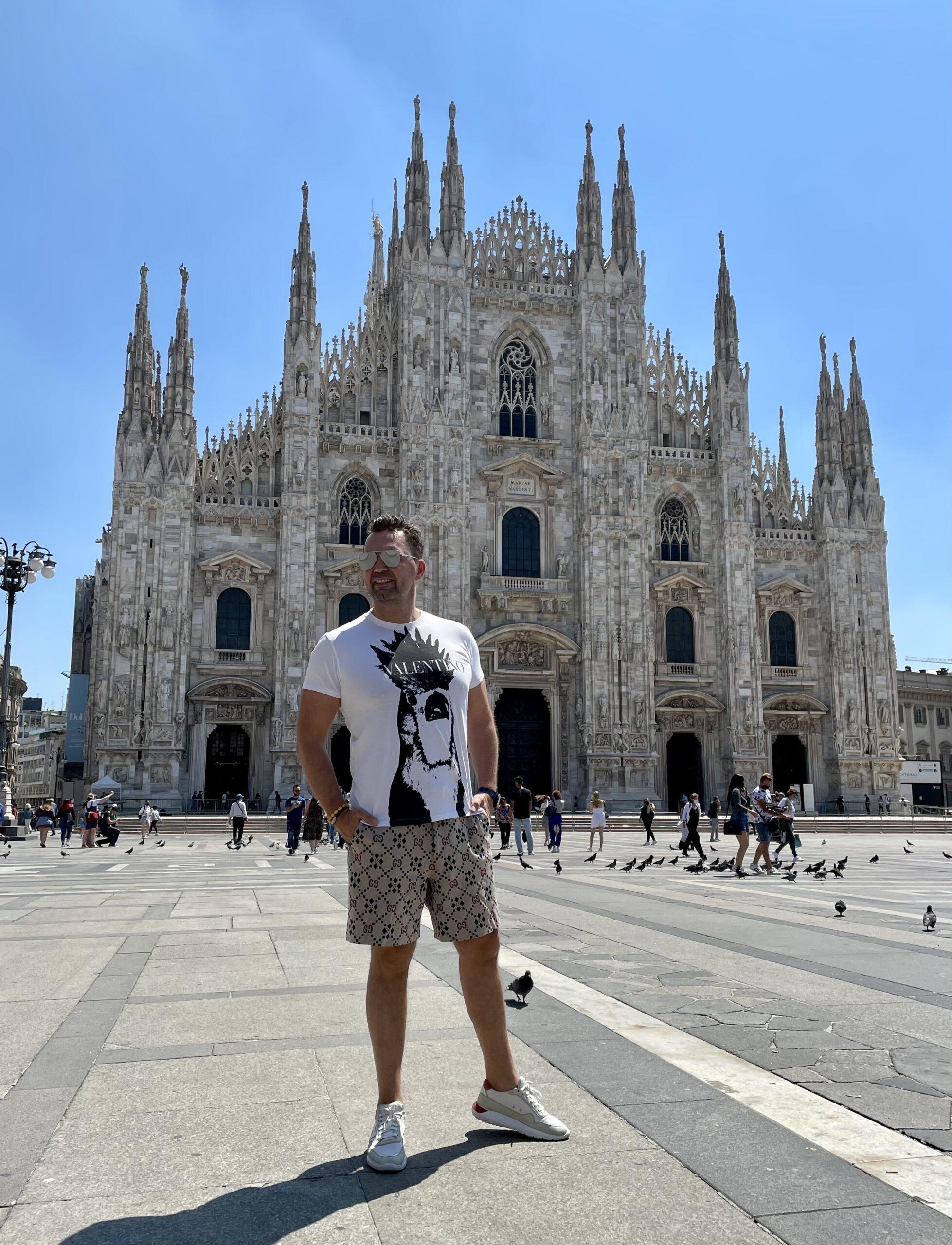 Mr Luxury w Mediolanie
