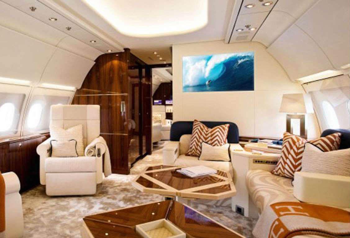 Abramovich's plane