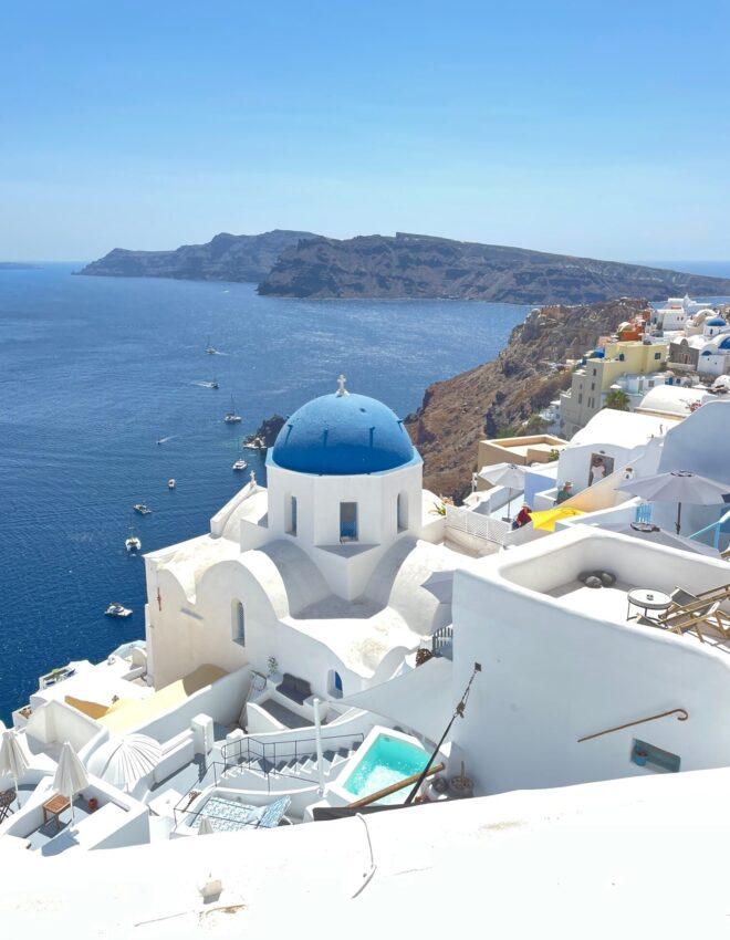 Santorini: magiczna wyspa na Morzu Egejskim