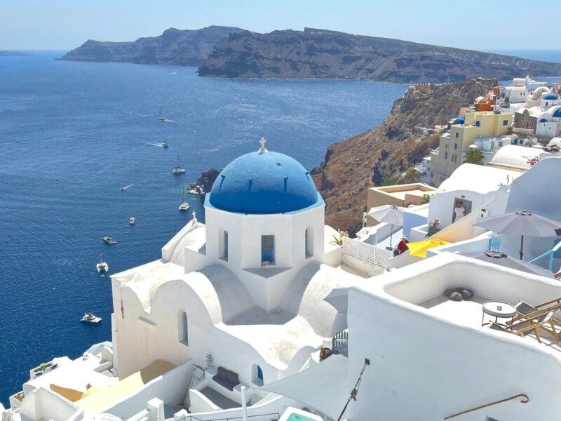 Santorini: a magic island on the Aegean See